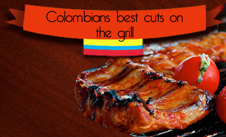 Colombians best cuts on the grill