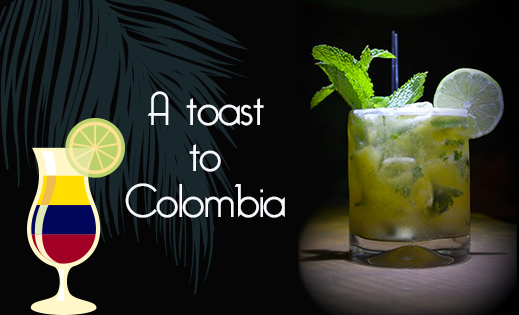A toast to Colombia
