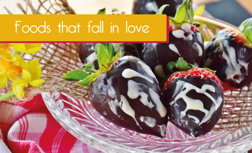 Foods that fall in love