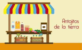 Banner antojitos productos colombianos