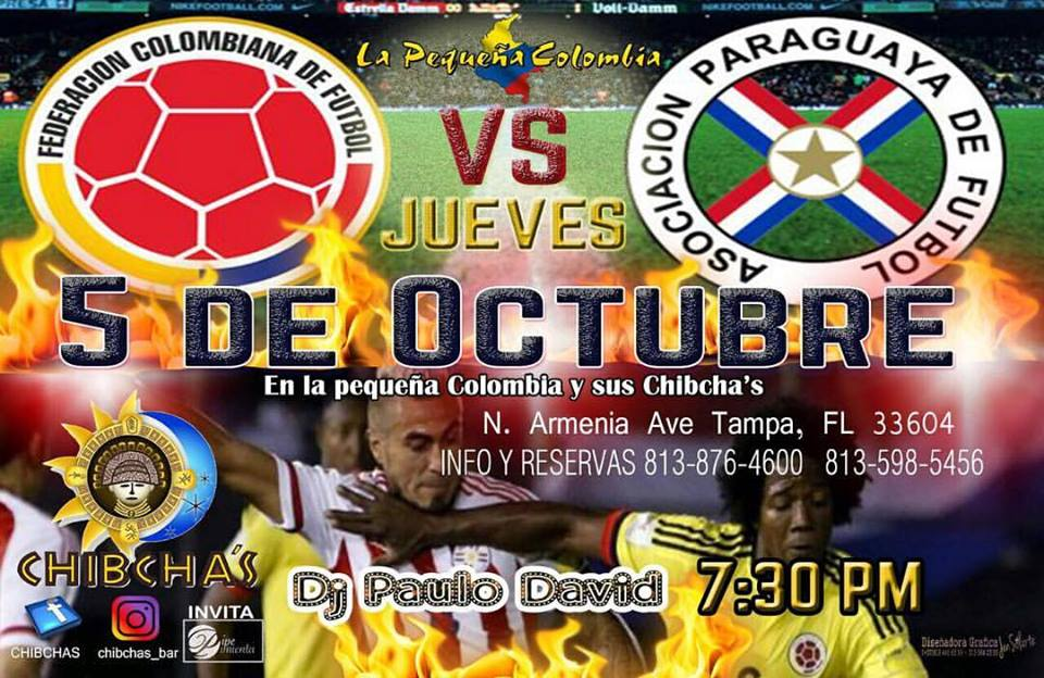 Colombia vs Paraguay Tampa